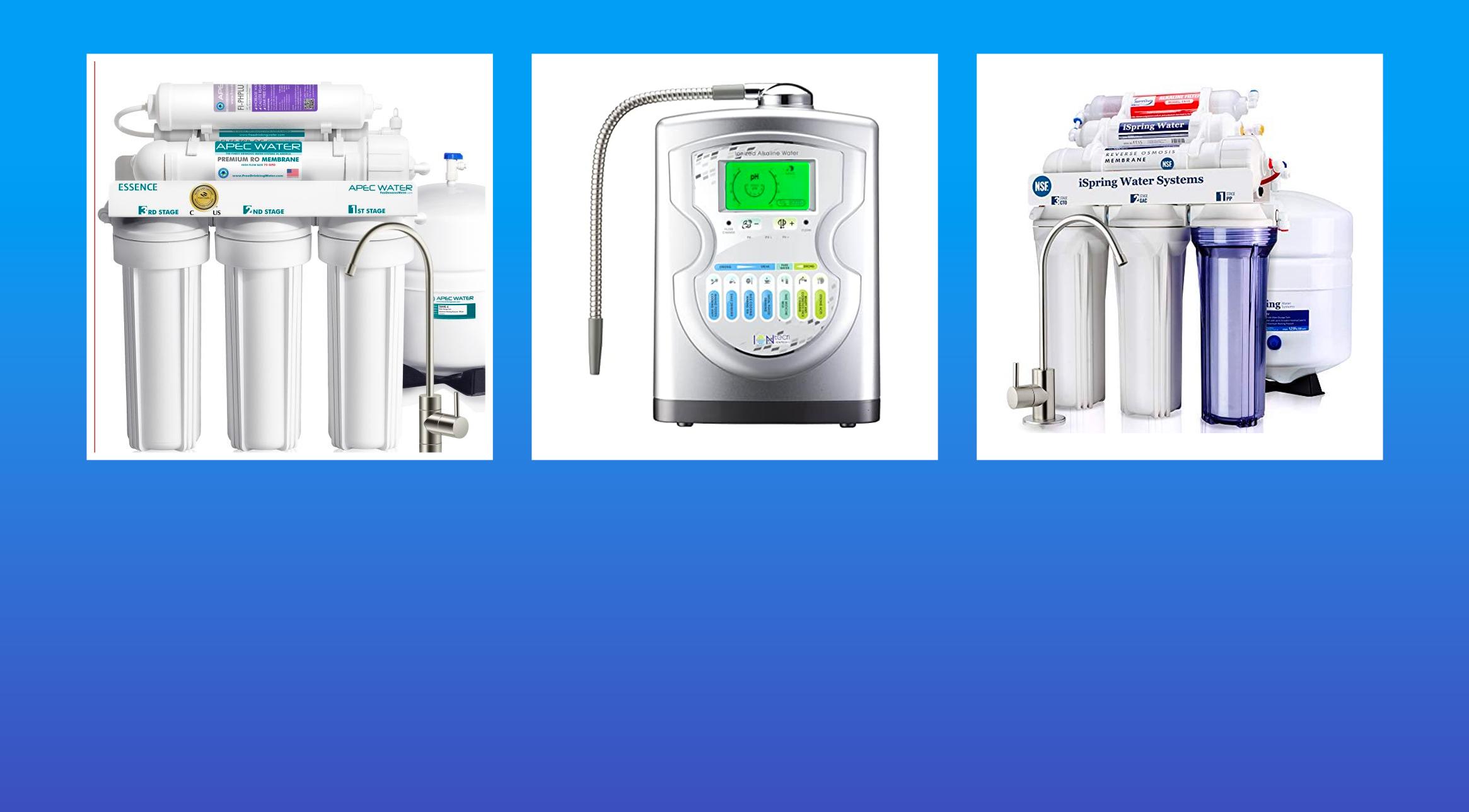 Best alkaline water filter